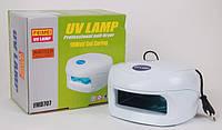 УФ Лампа для ногтей (ультрафиолетовая лампа) с индукционной схемой зажигания 707, 18W, ODS CVL /31