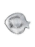 Набор стеклянных тарелок (селедниц) Pasabahce Marine 6шт 198*158мм