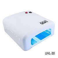 УФ Лампа для ногтей (ультрафиолетовая лампа)  с электронной схемой зажигания UVL-30, 36 W, LDV UVL-GGA /5-8