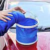 Складное ведро 11L синее, фото 7