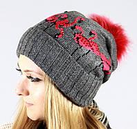 Оригинальная женская шапочка