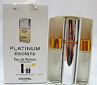 Духи набор Chanel Egoiste Platinum (шанель эгоист)