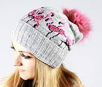 Модная осенняя шапка