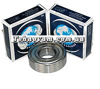Подшипник 6206 ZZ (30*62*16) металл запчасти