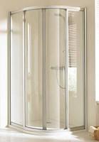 Душевая дверь раздвижная (радиус 50 см) Huppe Alpha AL3100, 900х900х1900 мм