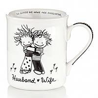 Кружка прикольная Муж и Жена,подарок мужу
