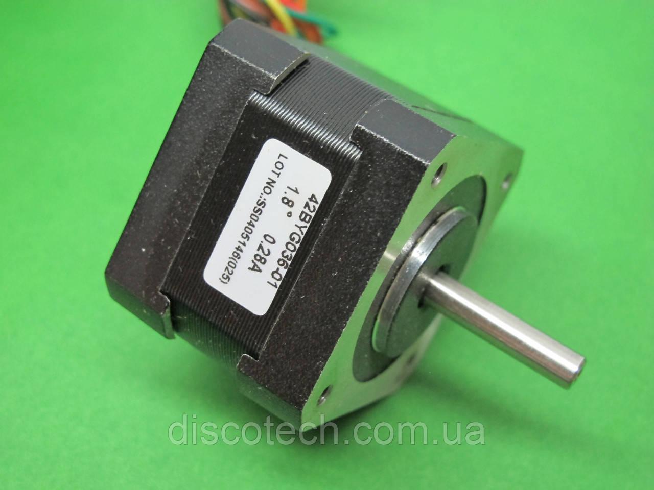 Двигатель шаговый уп 1,8 ф5,0/ 45 Ом Stepping Motor 42BYG036-01