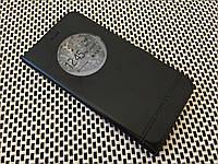 Кожаный чехол книжка Momax для ZUK Z1 чёрный