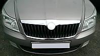 Накладка передней эмблемы Skoda Octavia (A5) 2004-2013, фото 1