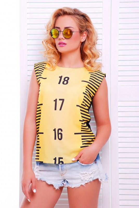 Оригинальная женская футболка из вискозы