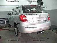 Фаркоп SKODA Fabia универсал с 2008 г.