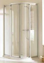 Душові двері розпашні (радіус 50 см) Huppe Alpha AL4200, 800х800х1900 мм