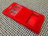 Кожаный чехол книжка Momax для Meizu Pro 6 красный