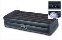 Надувной матрас односпальный Intex Интекс 203х102х47 см