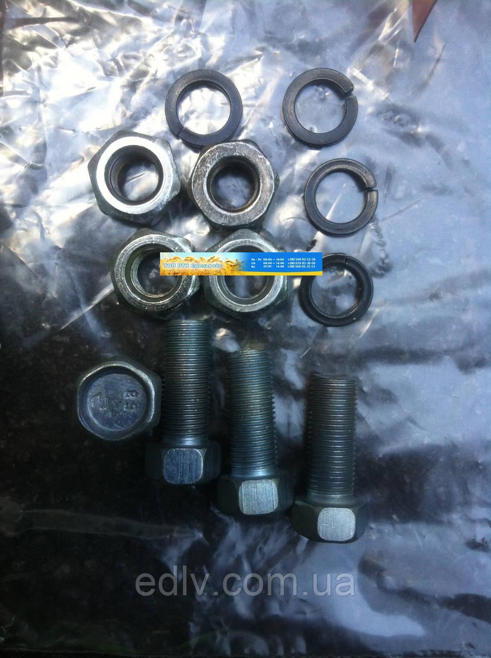 Ремкомплект крепления передачи карданной ГАЗ (4 болта М10х25 в сборе) (оригинал) (пр-во ГАЗ) 2217-2200800