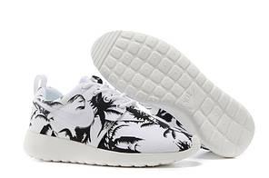 "Кроссовки Nike Roshe Run ""Palm Trees"" (Black/White), фото 2"