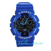 Часы Casio G-Shock GA-100 синие