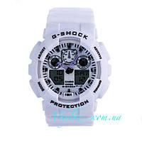 Часы Casio G-Shock GA-100 белые
