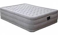 Надувная кровать винил Intex Интекс 152x203x46 см