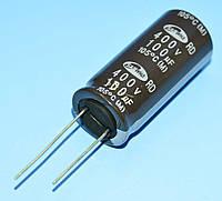 Конденсатор электролитический   100мкФ 400В Samwha 105*С RD 18*41