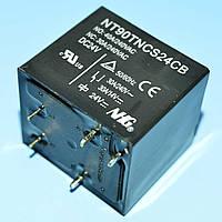 Реле 24V 1группа  NT90TNCS24CB (40A 240V) герметичное 5Pin on-on  NF
