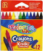 """Восковые мелки """"Colorino"""", 12 цветов, 13314PTR"""