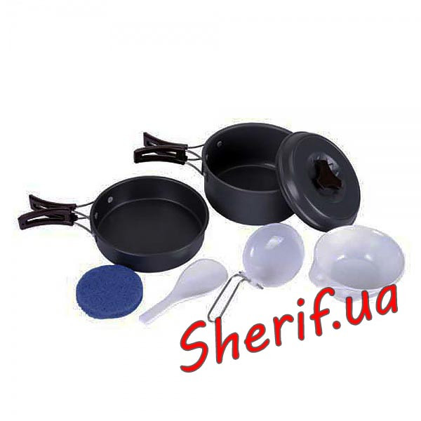 Набор посуды аллюминевый II Max Fuchs Black 33331