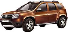 Фаркопы на Dacia Duster (c 2010--)