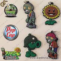 """Брелки Plants vs. Zombies - """"Plants Keychain"""" - 4 шт."""