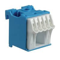 Блок дополнительных N-клемм 1x16 mm² + 5x4 mm², Hager KN06N