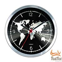 """Оригинальные настенные часы """"Карта мира"""""""
