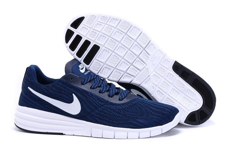 60a97d5b Кроссовки Nike SB Paul Rodriguez (Deep Blue/White) - Интернет-магазин обуви