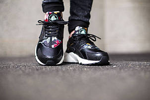 Кроссовки Nike Huarache Print Aloha (Black), фото 2