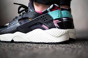 Кроссовки Nike Huarache Print Aloha (Black), фото 3