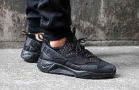 Кроссовки Nike Air Huarache Utility (Black)