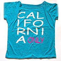 Футболка летняя с принтом California only