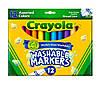 Фломастери Broad Line Washable (на водній основі), в наборі 12 кольорів, Crayola (Крайола)
