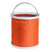 Складное ведро 11L оранжевое