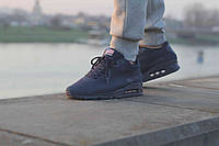 Кроссовки Nike Air Max 90 Hyperfuse Independence Day (Navy Blue)
