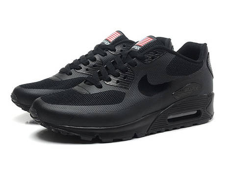 Кроссовки Nike Air Max 90 Hyperfuse Independence Day (Black), фото 2