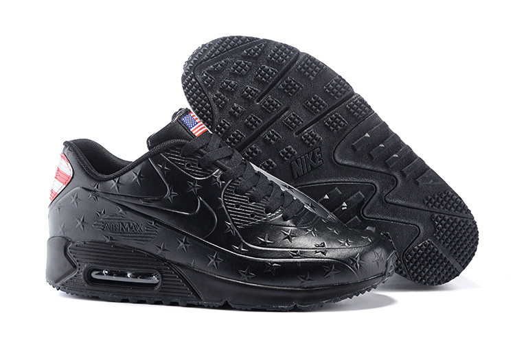 Кроссовки Nike Air Max 90 American Independence Day Limited (Black)