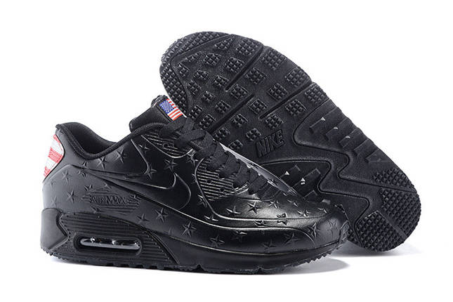 Кроссовки Nike Air Max 90 American Independence Day Limited (Black), фото 2