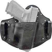 Кобура Fobus универсальная, скрытого ношения на поясе, для больших пистолетов ц:black