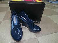 Туфли синие Melissa 38 р.
