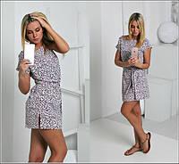 Женское атласное платье и-40337