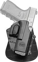 Кобура Fobus для Glock 17,19 с поясным фиксатором, поворотная, замок на скобе