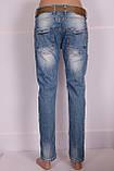 Жіночі джинси турецькі бойфренди Red Sold, фото 2