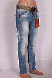 Жіночі джинси турецькі бойфренди Red Sold, фото 3