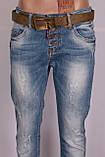 Жіночі джинси турецькі бойфренди Red Sold, фото 5