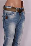 Жіночі джинси турецькі бойфренди Red Sold, фото 6